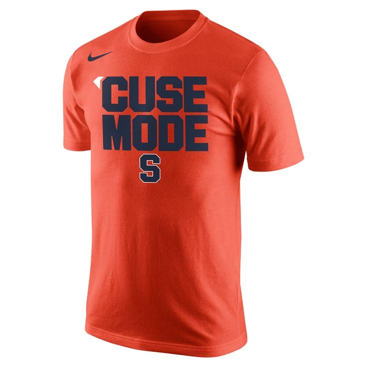 24b7e36a09f ... Nike College Basketball Mantra (Syracuse) Mens T-Shirt Size Medium ( Orange) 2017 hot sale Carmelo Anthony 15 Syracuse Orangemen bule white ...