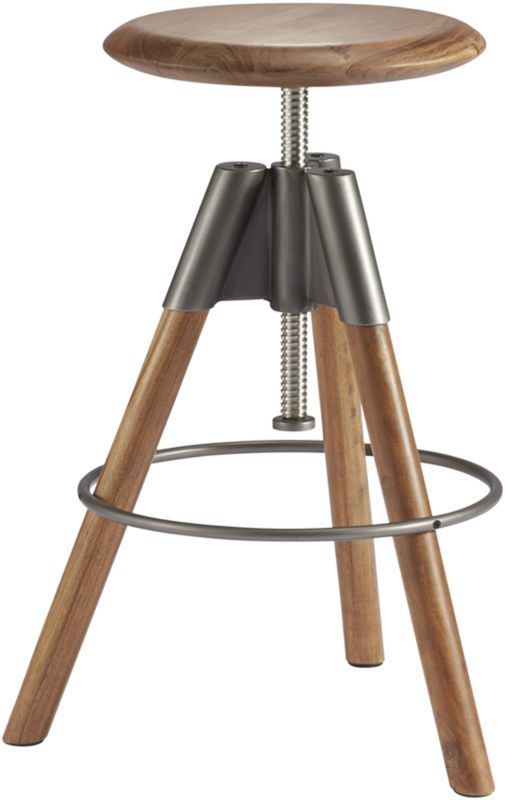 Bar stool option!  We need to check the height of your bar to know if you need counter height stools or bar height