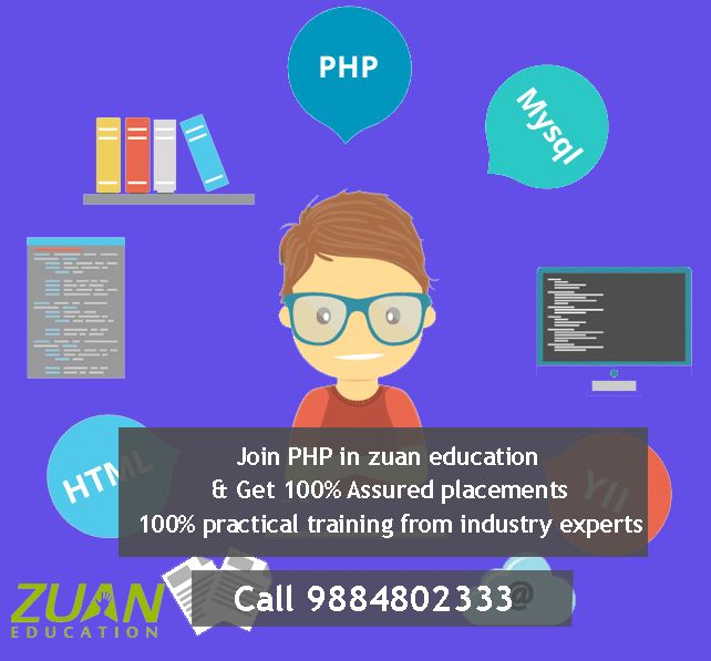 Live training on PHP & #MySQL #programming languages delivered by experience professionals!!  Join today to dive into the pool of modules to become a #PHP #developer in just 30 days! Know more at http://www.zuaneducation.com/core_php_training.php  #phpprogramming #phpdeveloper #webdeveloper #webdevelopment