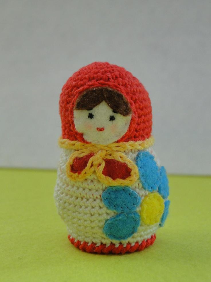 Amigurumi Russian Dolls : 466 best images about Crochet - Matryoshkas ! on Pinterest ...
