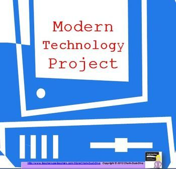 Your classroom will come alive with this fun project. Students will learn about the modern technologies invented after 1945 by participating in a Technology Fair. Each student will create a project on an assigned technology that was invented after World War II and describe the impact it had on both American society and the economy...