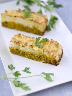 sauce soja, champignon de Paris, pomme de terre, poireau, oignon, huile d'olive, ail, navet, pain de mie, persil, carotte, céleri