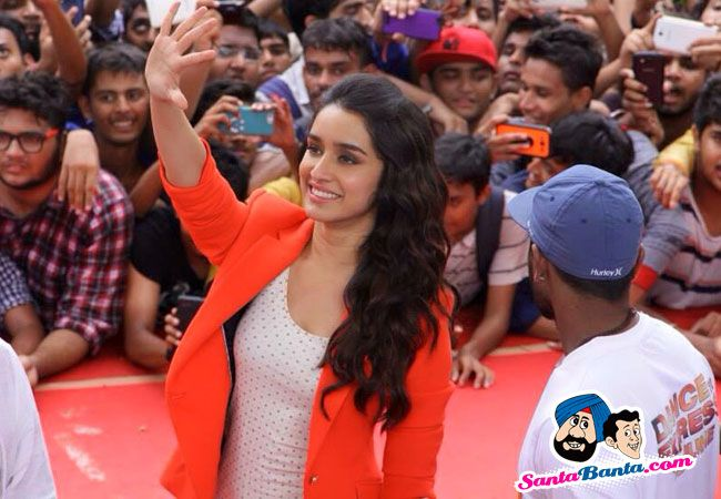 Stars Spotted 2015 -- Shraddha Kapoor during the promotional event of 'ABCD 2' in  Picture # 308290
