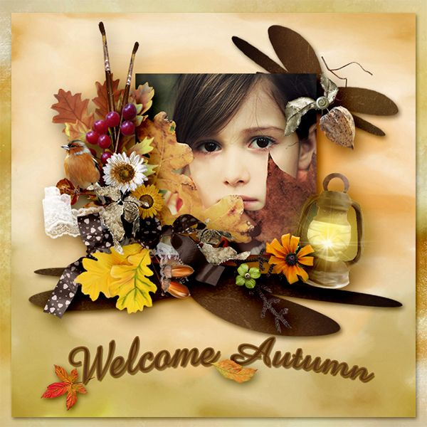New Kit * Welcome Autumn* by Lily Fee http://digital-crea.fr/shop/index.php… Photo: Pezibear - Pixaday