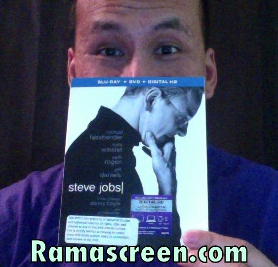 I've received this advance copy of #SteveJobs Blu-Ray. Stay tuned