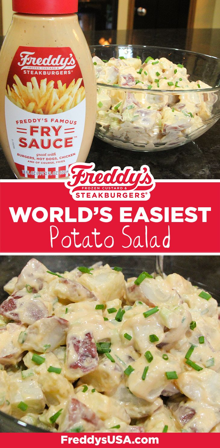 Freddy's world's easiest potato salad