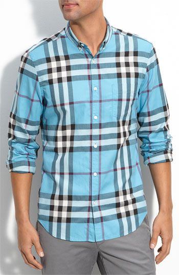 Burberry Brit Exploded Check Print Shirt