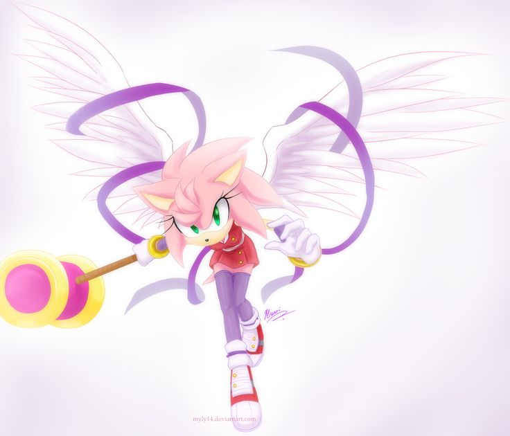 angel by on deviantart sonic pinterest art deviantart and amy rose. Black Bedroom Furniture Sets. Home Design Ideas