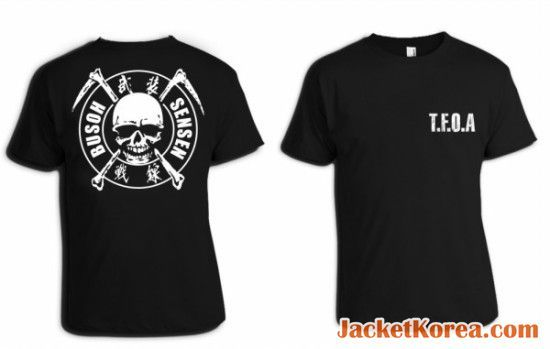 jual jaket crows zero tfoa the front of armament a-2