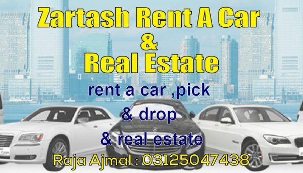 Zartash rent a car & real estate company. buy sell or rent from zartash motors. Islamabad No.1 automobile dealer.  #PakistanTown #MediaTown #O9PoliceFoundation #BahriaTown #SwanGardens #Classifieds  http://adheead.com/autos/
