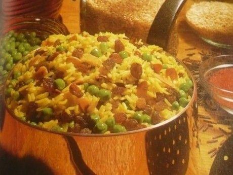 Currys rizs indiai módra recept - Okoskonyha.hu