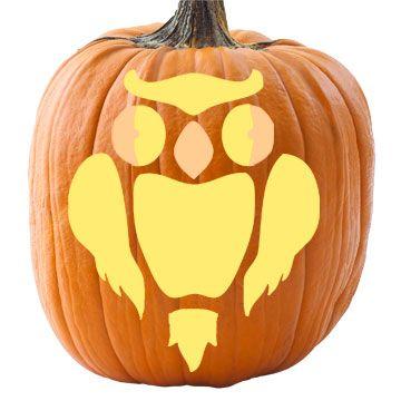 Best 25 owl pumpkin stencil ideas on pinterest owl for Spooky owl pumpkin stencil