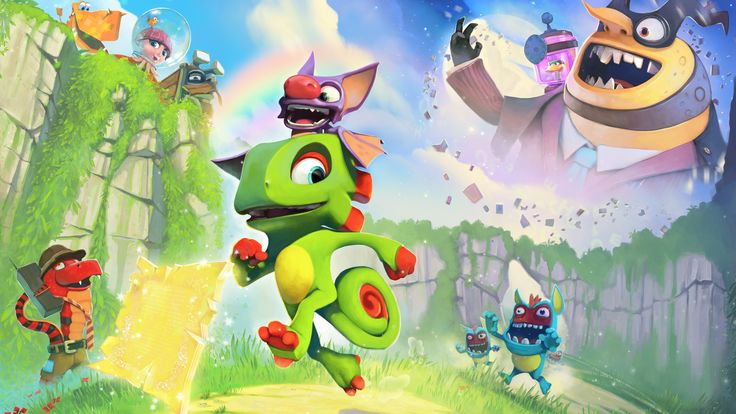 3840x2160 yooka laylee 4k desktop background wallpaper