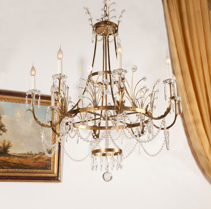 Wrought iron chandelier, Mogol style from Luxury collection by effebiweb.com