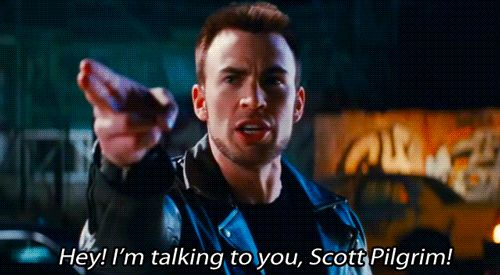 Then, he was in Scott Pilgrim vs. the World where he played that fake-celebrity guy.It was such a funny and underrated role!