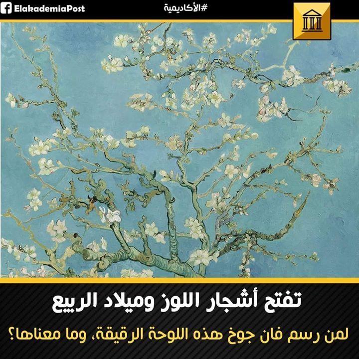 تفتح أشجار اللوز وميلاد الربيع حياة فان جوخ كانت مليئة بالبدايات الجديدة والمشاهد المتغيرة والأفكار المتفائلة بتحسن الاوضاع في Van Gogh Nature Wallpaper Gogh