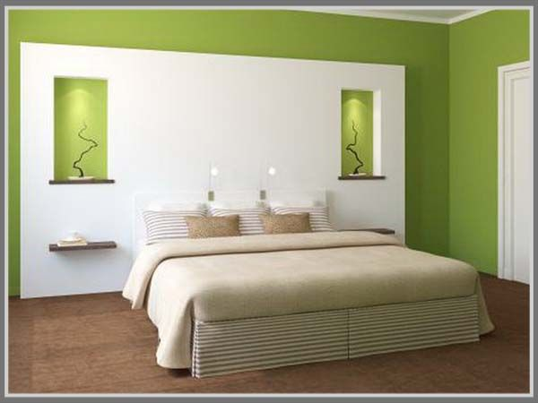 calming green good color for your bedroom interior design it helps you to sleep - Ly Design Your Bedroom