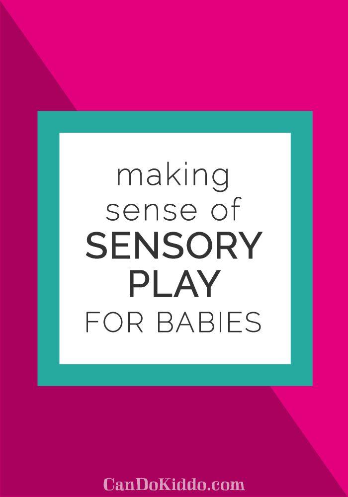 61 best Activités avec bébé images on Pinterest | Sensory activities ...