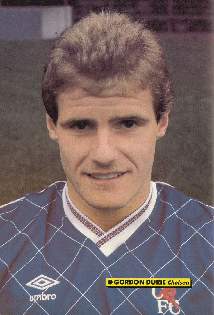 July 1988. Chelsea and Scotland striker Gordon Durie.