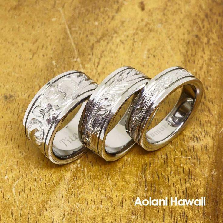101 best Hawaiian Wedding Rings images on Pinterest Hawaiian