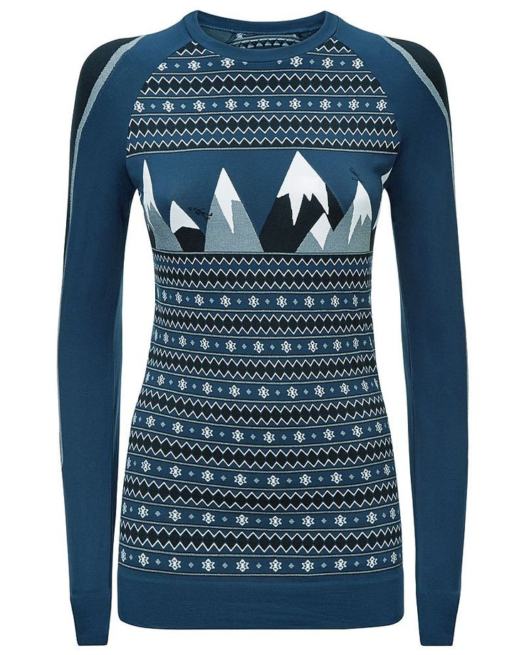 All she wants is another base layer, particularly this statement jacquard number. Quick drying, super soft and comfortable, wear this on the slopes, for après ski and as a cosy layer.Style with the matching Peak Ski Base Layer Leggings.