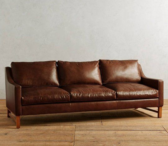 11 Stylish, Modern Leather Sofas