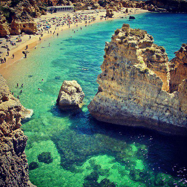 PRAIA DE SÃO RAFAEL, Albufeira, Portugal 2 weeks to go! Can't contain my excitement!