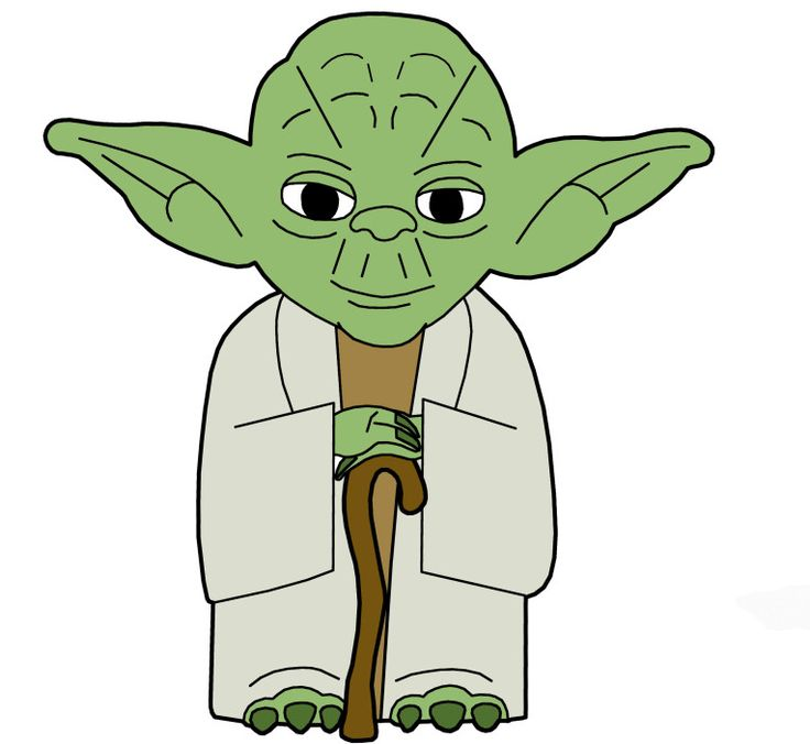 Clip Art Yoda