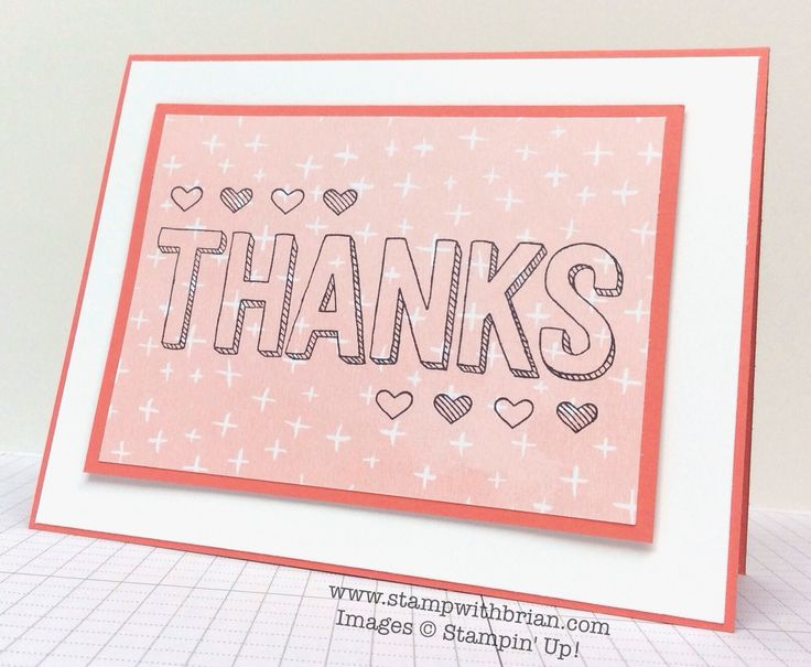 For Being You, Stampin' Up!, Brian King