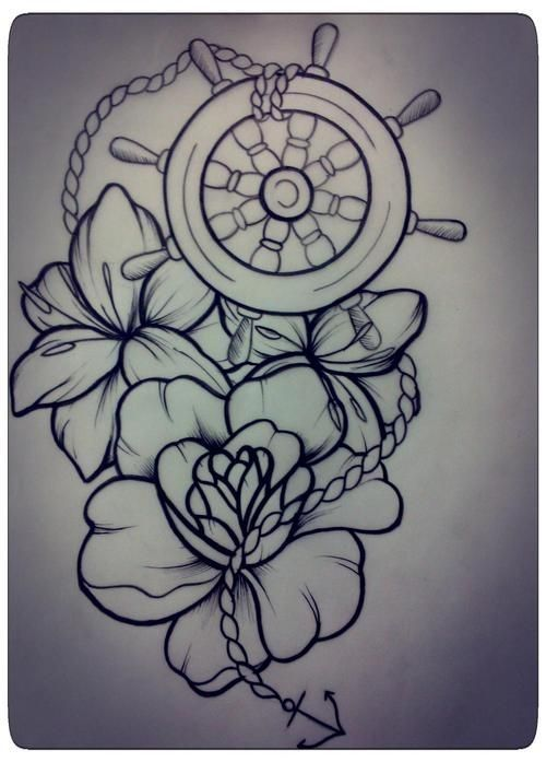 traditional compass tattoos - Google Search