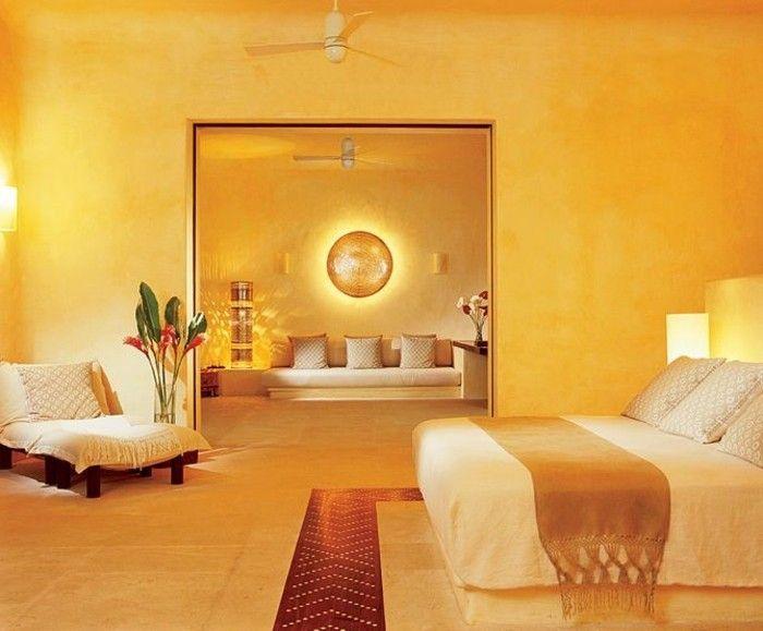 Schlafzimmer Wandfarbe Ideen In 140 Fotos Wandfarben Ideen