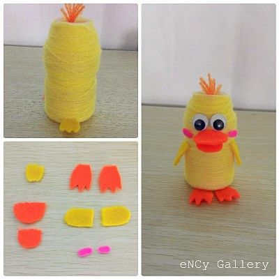 This super cute pencil holder is made from Yakult bottle only in few minutes...