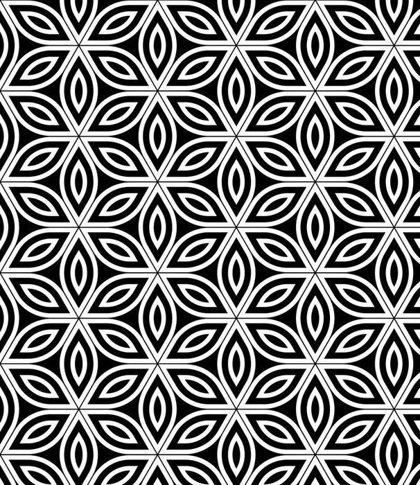 Draw Flower Patterns Vector Modern Seamless Sacred Geometry