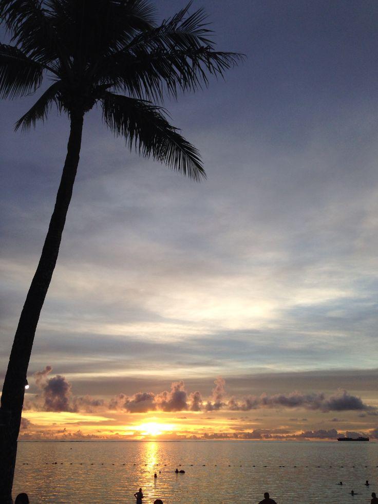 sunset INサイパン島