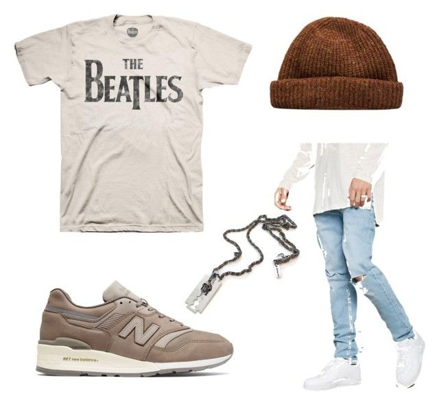 """""""Men style"""" by emka-kruta on Polyvore featuring 21 Men, New Balance, men's fashion and menswear"""