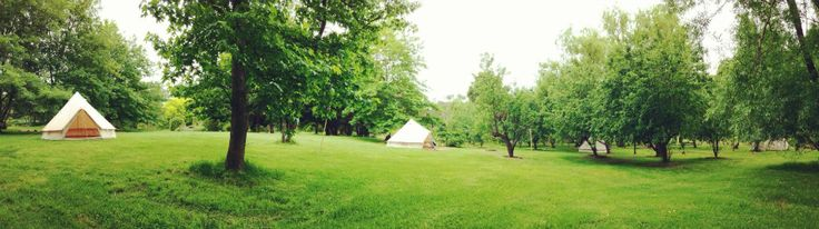 Bell Tent village  For accommodation or event hire, please contact us!  Happy Glamper - Mornington Peninsula AUSTRALIA