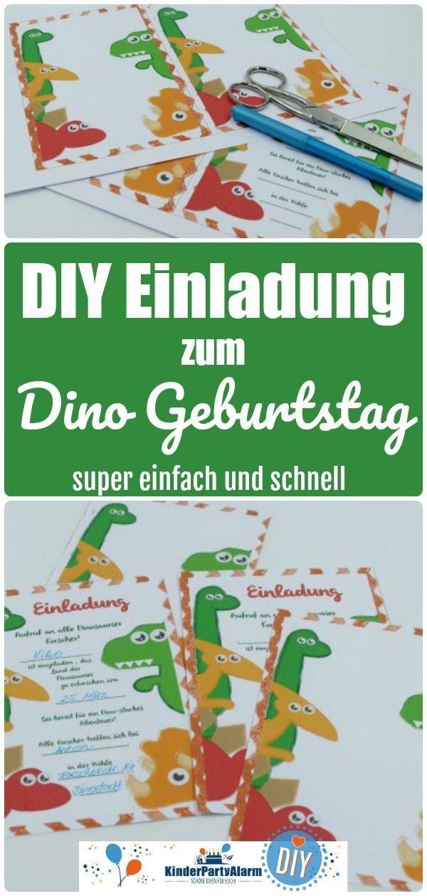 Das Abenteuer ruft beim Dino Kindergeburtstag! Einladung zum Dino Kindergeburtst… – Eltern-Tipps: Familie, Erziehung, DIY, Reisen mit Kind | Muttis Nähkästchen