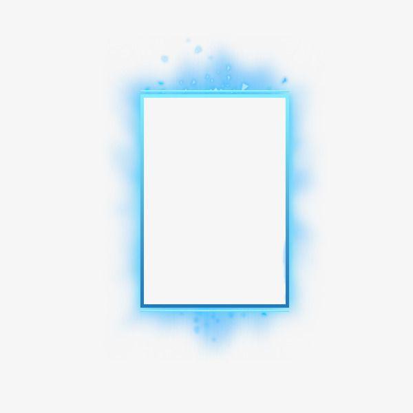 Blue Border Clip Art Borders Light Science Clip Art