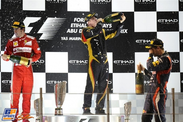Fernando Alonso, Kimi Räikkönen, Sebastian Vettel, Ferrari, Lotus Renault, 2012 Abu Dhabi Formula 1 Grand Prix, Formula 1