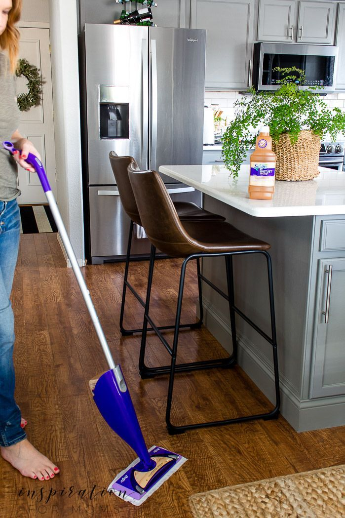 How To Get Clean Hardwood Floors Even In A Home With All Boys Clean Hardwood Floors Flooring Affordable Home Decor