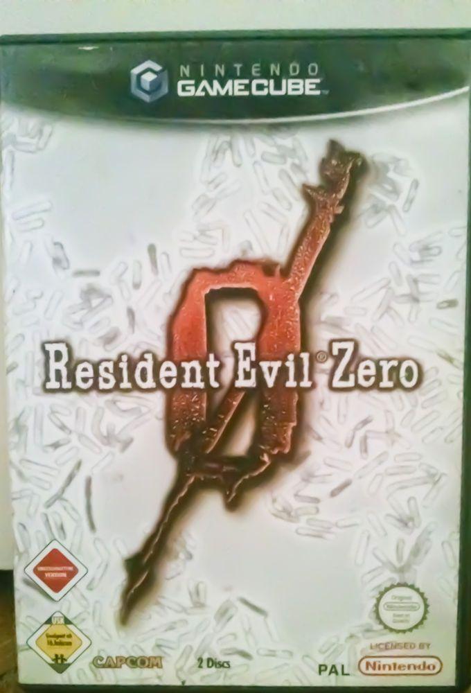 Rare Original RESIDENT EVIL ZERO GAMECUBE game (PAL)