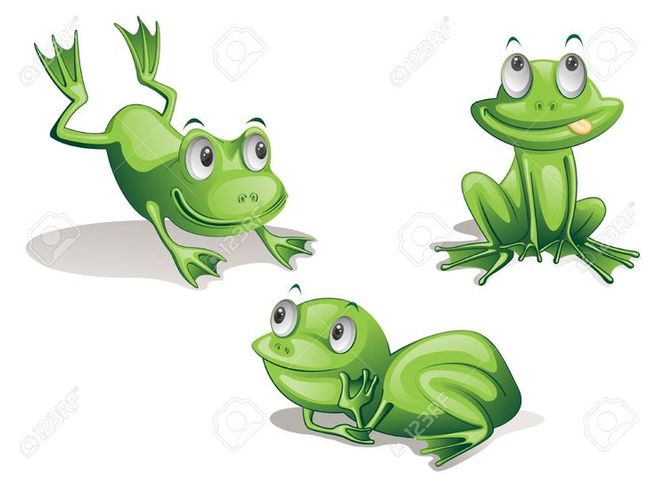 Jumping frog animation - photo#15