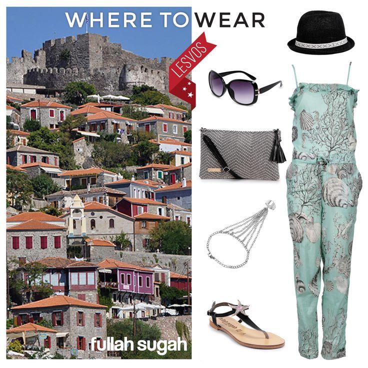 Διακοπές στη Λέσβο? Φύγαμε με Fullah Sugah! #sales #trends #summer_look #fullah_sugah #style