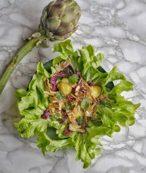 Pennes Aux Artichauts Petites Courgettes Et Olives Recette Food Artichaut Recette Et Salade Artichaut