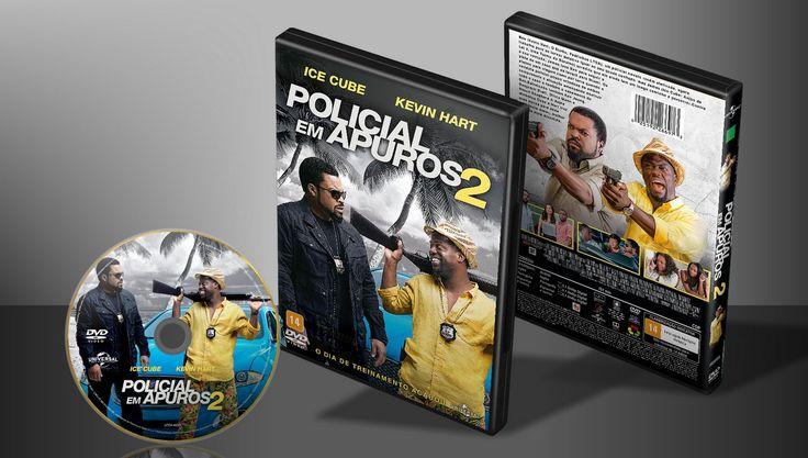 Policial Em Apuros 2 - Capa | VITRINE - Galeria De Capas - Designer Covers Custom | Capas & Labels Customizados