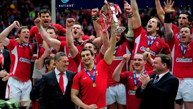 Wales win 2012 Six Nations Cup with Grand Slam
