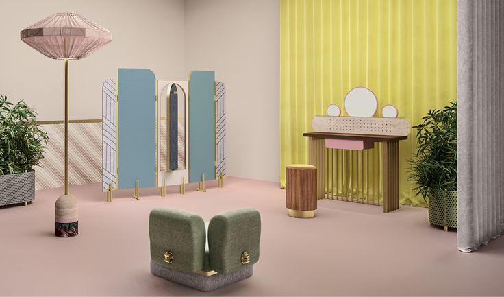 Tha Happy Room by Cristina Celestino for Fendi via Goodmoods