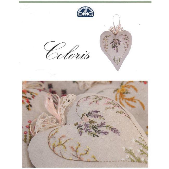 Librito corazón bordado Coloris 15359/22 - Libros - DMC