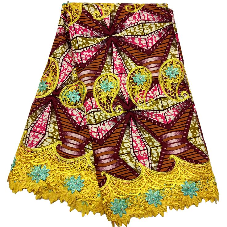 Find More Fabric Information about LBLLK 28 hollandis wax mix lace fabric african wax/ankara printed wax mix embroidered Yellow lace,High Quality african wax,China hollandis wax Suppliers, Cheap ankara print from Freer on Aliexpress.com