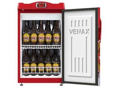 Cervejeira/Expositor Vertical 1 Porta 100 Litros - Venax Premium com as melhores condições você encontra no Magazine Edmilson07. Confira!